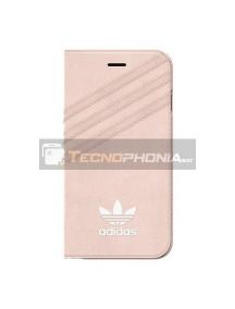 Funda Libro TPU Adidas BI8053 iPhone 7 - 8 rosa