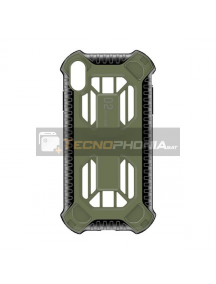Funda TPU Baseus Cold Cooling iPhone XS Max verde