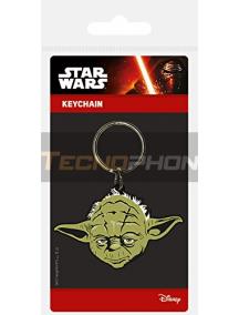 Llavero de goma Star Wars Maestro Yoda