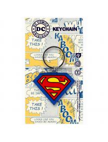 Llavero de goma DC Superman