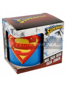 Taza cerámica 325ML Superman logo 8412497464210