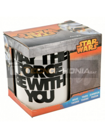 Taza cerámica 325ML Star Wars - May the force be with you 8412497728084
