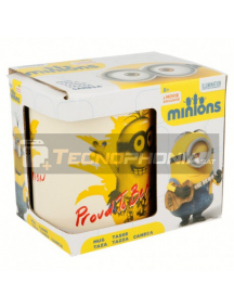 Taza cerámica 325ML Minions - Proud to be 8412497770038