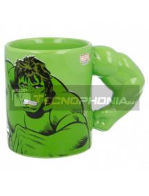Taza cerámica 3D 330ML Hulk brazo 8412497900664