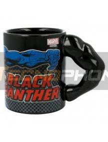 Taza cerámica 3D 330ML Black Panther brazo 8412497900688