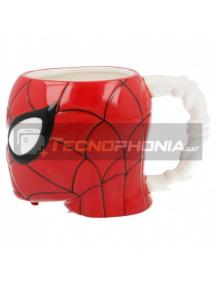 Taza cerámica 3D 410ML Spiderman cabeza 8412497909865