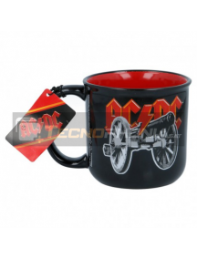 Taza cerámica desayuno 385ML ACDC 8412497197477