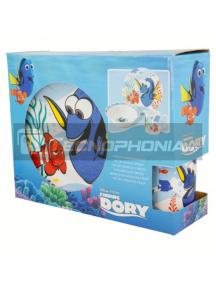 Set cerámico de merienda en caja regalo Disney - Buscando a Dory 8412497463657