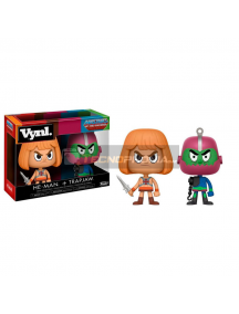 Set de figuras Funko Vynl Masters Of The Universe He-Man y Trapjaw