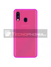 Funda TPU Samsung Galaxy A40 A405 rosa