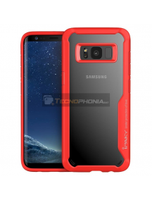 Funda TPU Frame iPaky Samsung Galaxy S9 G960 roja