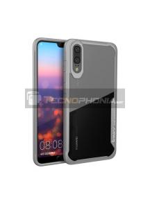 Funda TPU Crystal iPaky Huawei P20 gris