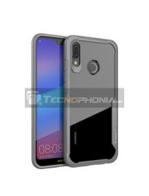 Funda TPU Crystal iPaky Huawei P20 Lite gris