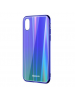 Funda Baseus Laser iPhone X - XS verde