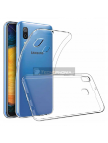 Funda TPU 0.5mm Samsung Galaxy A30 A305 transparente