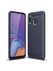 Funda TPU carbon Samsung Galaxy A30 A305 azul