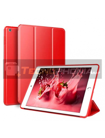 Funda libro smart case New iPad roja