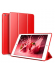 Funda libro smart case New iPad roja