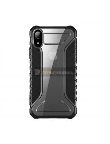 Funda Baseus Michelin iPhone XR gris - transparente