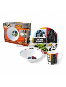 Set de merienda en caja regalo Star Wars 8412497728657