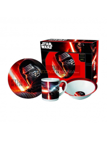 Set de merienda en caja regalo Star Wars 8435333851296