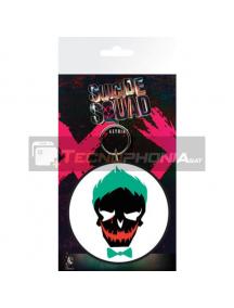 Llavero de goma Escuadrón Suicida Joker Skull