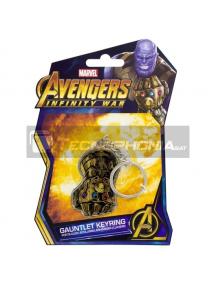 Llavero Marvel Thanos Infinity War Gauntlet