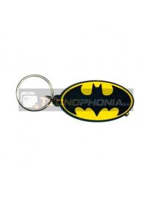 Llavero de goma Batman logo