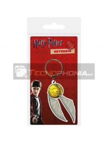 Llavero de goma Harry Potter Snitch Carded
