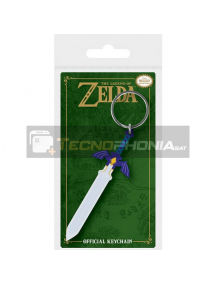 Llavero de goma The Legend of Zelda Master Sword