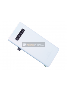 Tapa de batería Samsung Galaxy S10 Plus G975 blanca