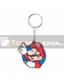 Llavero de goma Nintendo - Mario It's me!
