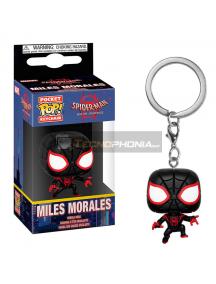 Llavero Funko Pocket POP! Marvel Animated Spiderman Miles Morales