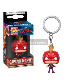 Llavero Funko Pocket POP! Marvel Capitana Marvel Casco