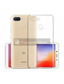 Funda TPU 0.5mm Xiaomi Redmi 6 transparente