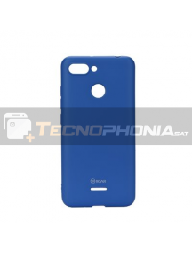 Funda TPU Roar Colorful Xiaomi Redmi 6 azul