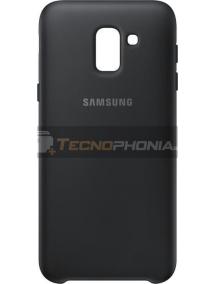 Funda TPU Samsung EF-PJ600CBE Galaxy J6 2018 J600 negra
