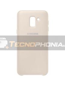 Funda TPU Samsung EF-PJ600CFE Galaxy J6 2018 J600 dorada