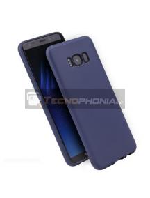 Funda TPU Soft Samsung Galaxy A20E A202 azul marino