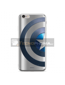 Funda TPU Luxury Marvel 006 Capitán América iPhone 7 - 8