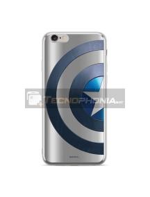 Funda TPU Luxury Marvel 006 Capitán América iPhone X - XS