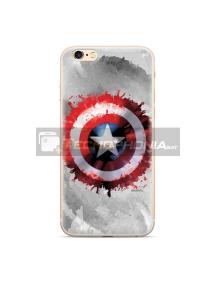 Funda TPU Marvel - Capitán América 019 Samsung Galaxy A50 A505