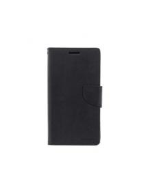 Funda libro TPU Goospery Bravo Diary Samsung Galaxy A6 Plus A605 negra