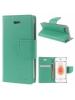 Funda libro TPU Goospery Bravo Diary Samsung Galaxy A6 Plus A605 menta