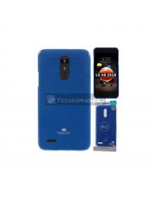 Funda TPU Goospery LG K9 - K8 2018 azul