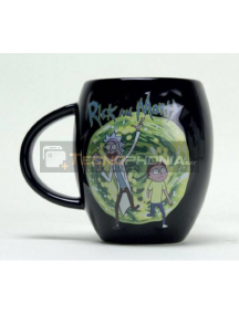 Taza oval Rick and Morty