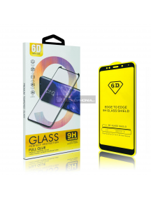 Lámina de cristal templado 6D Xiaomi Redmi 7 - Redmi Note 7 - Mi9 negro