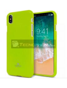 Funda TPU Goospery iPhone X - XS limón