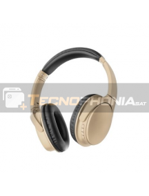 Auriculares Bluetooth MS-K10 dorado