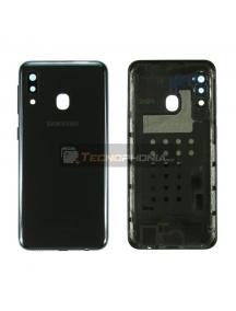 Tapa de batería Samsung Galaxy A20e A202 negra